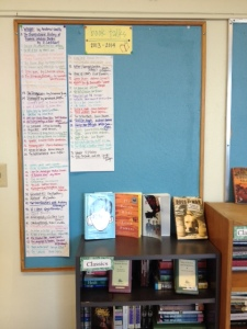 the ever-growing list of books i've book talked this year!