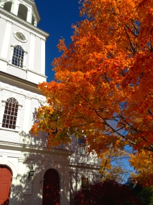 Autumn in my New Hampshire school district.