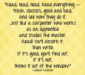 Faulkner on reading