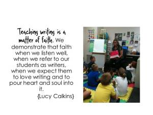 Lucy Calkins quote