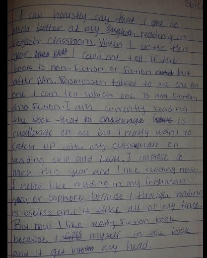 Keeping It Simple Setting Up A Writers Notebook Three Teachers Talk
