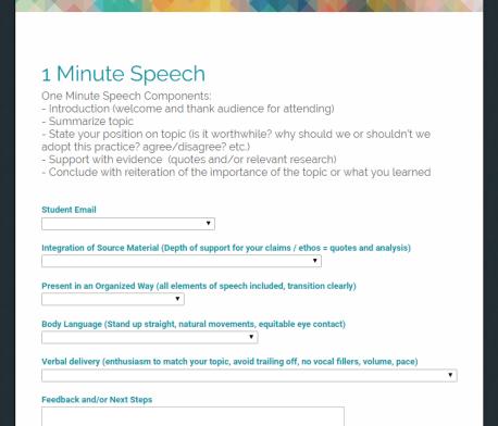 speech-form