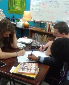 studentswriting