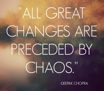 Chopra chaos quote