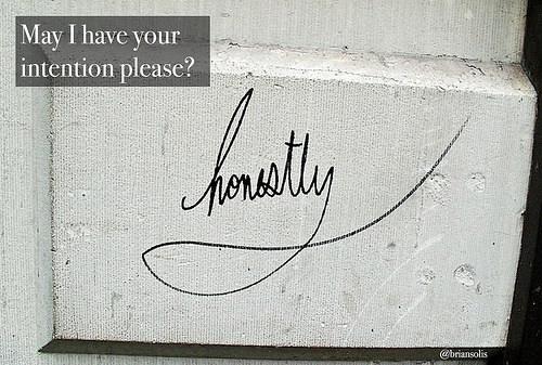 Intentionhonestly