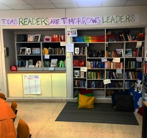My classroom library now