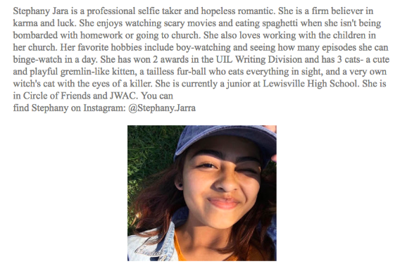 Stephany author bio