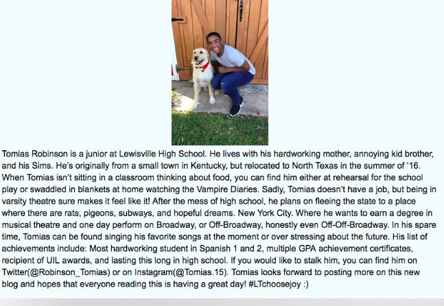 Tomias author bio