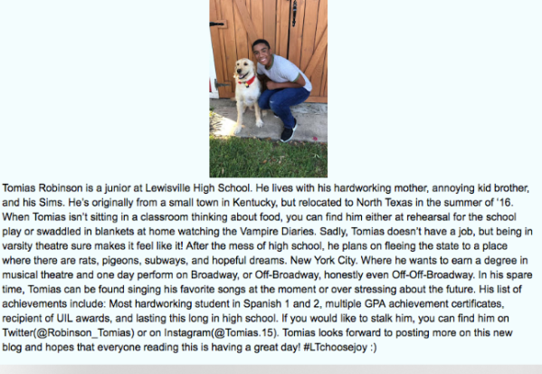 Tomias author bio