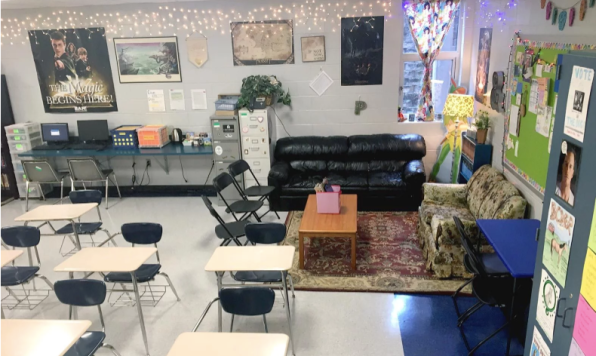 Many teachers are re-thinking the way high school classrooms might look (source: https://www.edutopia.org/article/high-school-flexible-seating-done-right)