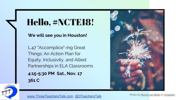 NCTE 2018- shared slides
