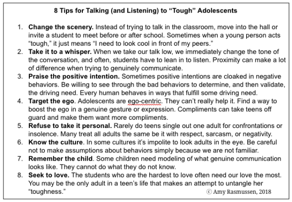 8 Tips for Talking to Adolescents